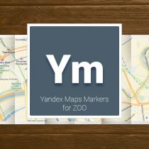 Yandex Maps Markers for ZOO
